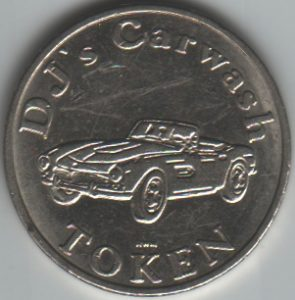 DJ's Car Wash Token Obverse