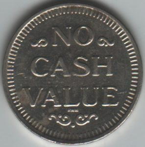 DJ's Car Wash Token Reverse