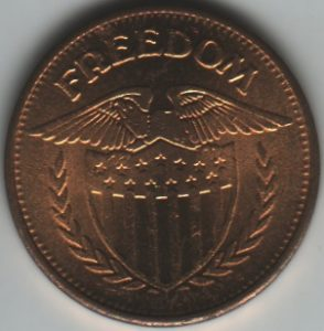 Freedom Token Obverse