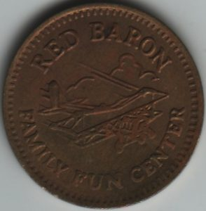 Red Baron Token Obverse